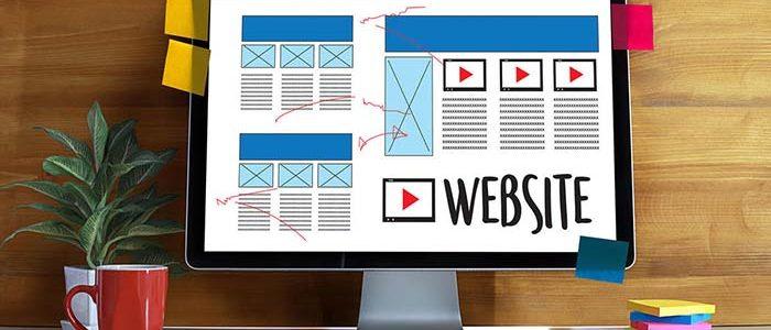 หน้าเว็บเพจสำหรับ ในการสร้างเว็บไซต์ให้ธุรกิจ
